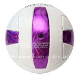 La mayoría del voleibol cosido a máquina publicitario popular de la bola de la vejiga de goma de encargo de la impresión