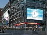 Mostrador eletrônico ao ar livre LED Billboard para Video Wall P10