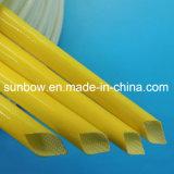 Gainer isolant approuvé de fibre de verre de silicones de fil électrique d'UL