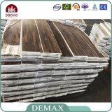 Pavimentazione commerciale scura di superficie del PVC impressa legno profondo piacevole della quercia tintoria