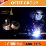 プラスチックスプールのガスによって保護される銅の上塗を施してあるソリッドワイヤ(MIG) Aws A5.18 Er70s-6