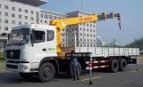 carro resistente del camión de 270HP 8X4 montado con la grúa de XCMG