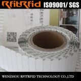 Papel Thermo-Sensitive descartável da freqüência ultraelevada no Tag do rolo RFID