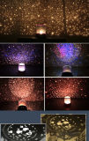 Momo kreative neue Starrynight Projektions-romantischer Umdrehungled Nightlight