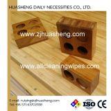 Bandejas de bambu para tecido comprimido da moeda de toalha