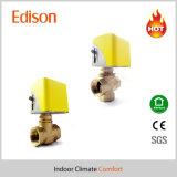 tweerichtings 3-Way Elektrische Actuator Klep (KLV)
