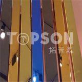 Feuille colorée par or d'acier inoxydable miroir/8k de Rose de vente directe d'usine