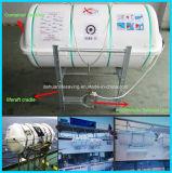 Liferaft inflável Abrir-Reversível do homem Aor-50 com certificado do CE