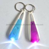Изготовленный на заказ проблесковый свет Keychain СИД при напечатанный логос (4066)