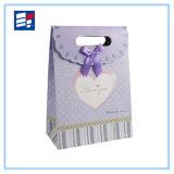 Sac de papier de cadeau pour le vin/bijou/habillement/chaussures/électronique de empaquetage