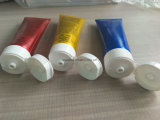 人のクリームの装飾的な包装のためのアルミニウムによって薄板にされる管