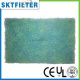 Filtre biologique vert et bleu mélangé