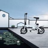 Bewegliches gefaltetes elektrisches Fahrrad des Hersteller-12-Inch mit LED-Lampe