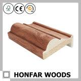 Moulage en bois de cadre de porte de forces de défense principale de placage de chêne