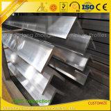 6061-T6製造所の終わりは産業アルミニウムプロフィール構築のための突き出た