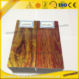カスタマイズされたアルミ合金の木の穀物は木を模倣する