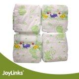사랑스러운 흡수성 처분할 수 있는 아기 기저귀 또는 아기 작은 접시