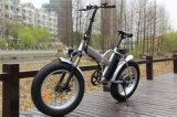 """20 """" 접히는 뚱뚱한 타이어 전기 산 자전거 Li 이온 건전지 Rseb507"""