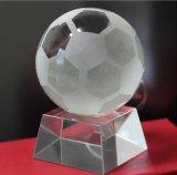 Trofeo disponibile della sfera di cristallo del globo del mondo della sfera di cristallo