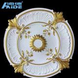 Het Medaillon van het Plafond van het Medaillon Pu van de Verlichting van de Kroonlijsten Pu van het Plafond van Pu