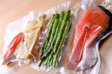 Ясный полиэтиленовый пакет замораживателя вакуума для мяса
