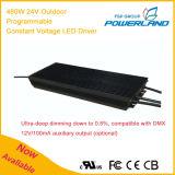 480W 24V im Freien programmierbarer Dimmable konstanter Fahrer der Spannungs-LED