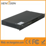 De beheerde Schakelaar van het Netwerk Ethernet van de Vezel van 24 Havens Gigabit Industriële