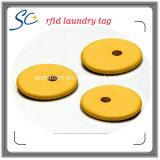 RFID resistente al agua ultrasónico de sellado de lavandería Etiqueta para limpieza en seco de