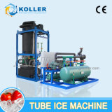 10 toneladas de máquina de gelo oca cilíndrica da câmara de ar