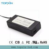 Adaptateur de pouvoir de C.C 60W 24V à C.A. d'adaptateur de mur avec l'homologation de RoHS de la CE