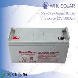 Batterie d'acide de plomb de cycle profond de batterie solaire de Newgos 12V 100ah
