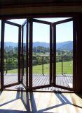 Pnoc022304ls australischer guter Standardpreis-Aluminiumfalz-Tür