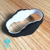 Wristband da freqüência/Tag duplos do silicone Hf&UHF do bracelete