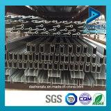 Profilo di alluminio per la stoffa per tendine popolare del portello della finestra di buon disegno