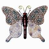 고대 정원 벽 예술 금속 나비 훈장 46cm