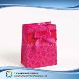 Напечатанный мешок несущей бумаги упаковывая для одежд подарка покупкы (XC-bgg-044)