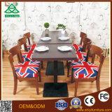 Подгонянный королевский обедая комплект таблицы и стула