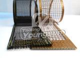 Do engranzamento revestido da fibra de vidro de PTFE correia transportadora