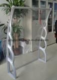 1500mm Tiefen-Wind-beständiges Polycarbonat-Tür-Kabinendach (YY1500-H)