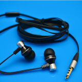 Vente en gros Special Offer Metal in - Ear Earphone with Flat Cable
