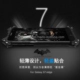 Nueva caja del metal de la Gota-Prueba del estilo con el soporte para el borde de Samsung S7