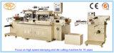 Alta calidad que arruga y papel máquina troqueladora