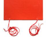 Calefator de tira flexível da borracha do silicone do aquecimento elétrico