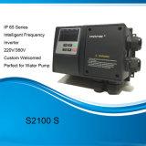 Aandrijving van de Veranderlijke Snelheid van S2100s IP65 de Waterdichte Intelligente voor de Pomp van het Water