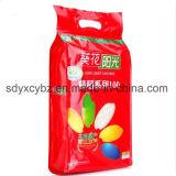 com GV saco aprovado do empacotamento plástico do arroz com punho