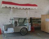 Carro do gelado de Califórnia do aço inoxidável 304