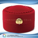 贅沢な木の腕時計の宝石類のギフトの表示円形の包装ボックス(xc-hbj-041)