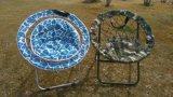 Kampierender faltender im Freienfreizeit-Mond-Stuhl