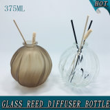 bottiglia a lamella di vetro del diffusore dell'aroma vuoto della sfera rotonda 375ml