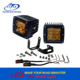 Offroad Truck 3 pouces 12W 4D Flood Spot Combo Beam Oz-USA Amber Lens Phillips LED Headlight de travail
